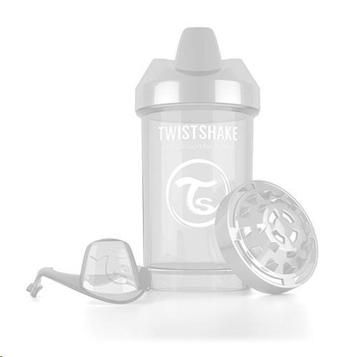 Twistshake - Crawler Cup 300ml Wit