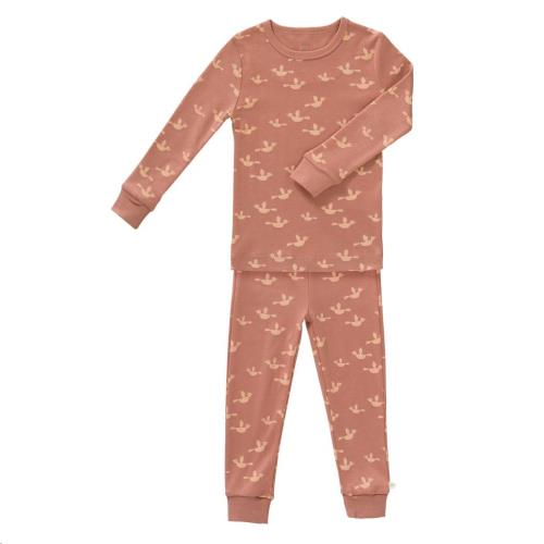 Fresk - 2-Delige Pyjama Birds Maat 1 Jaar