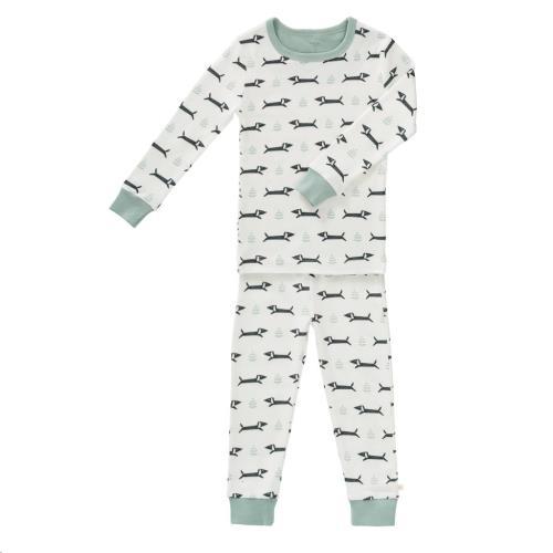 Fresk - 2-Delige Pyjama Dachsy Maat 4 Jaar
