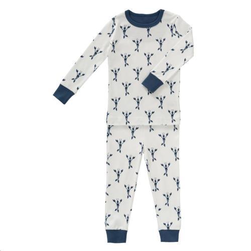 Fresk - 2-Delige Pyjama Lobster Indigo Blue Maat 1 Jaar