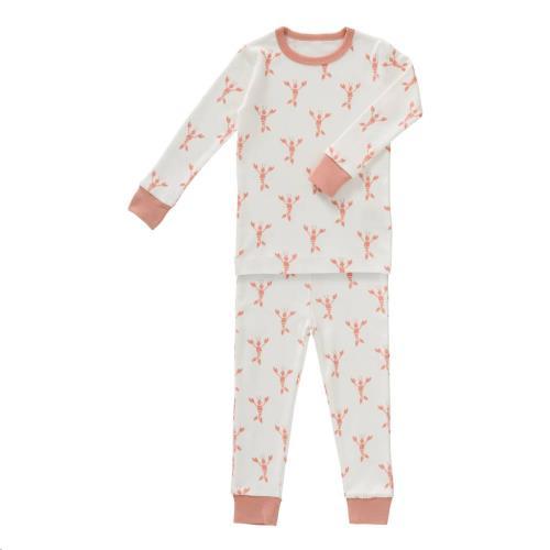 Fresk - 2-Delige Pyjama Lobster Coral Maat 1 Jaar