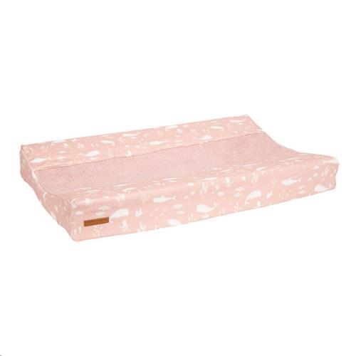 Little Dutch - Aankleedkussenhoes Ocean Pink