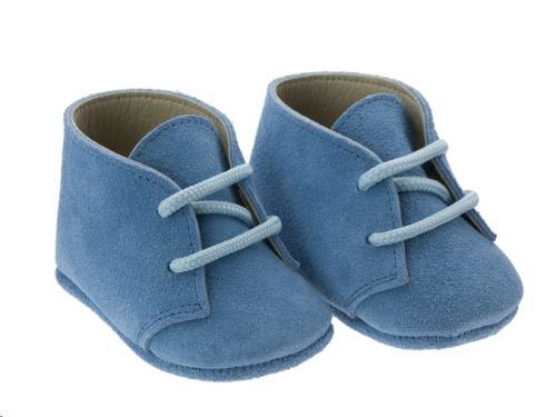 Cambrass - Schoentjes Blauw 6-9M