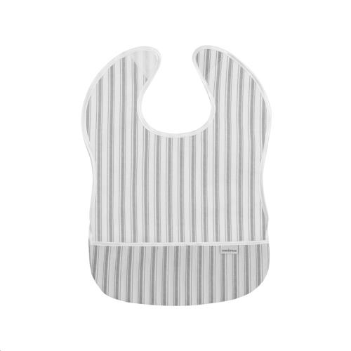 Cambrass - Bib Square Pvc Stripes Grey 28X36 cm (Cambrass)