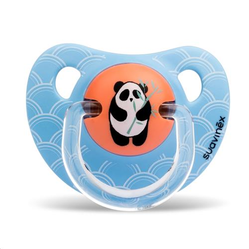 Suavinex - Anatomical - Speen - Latex - Anat. - +6/18M Or Bamboo Panda