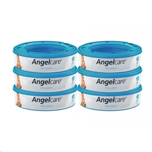 Angelcare - 6X Round Refill Angelcare Deluxe