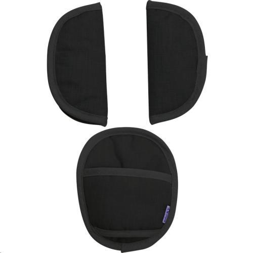 Xplorys Dooky - Universal Seat Belt Pads - Black