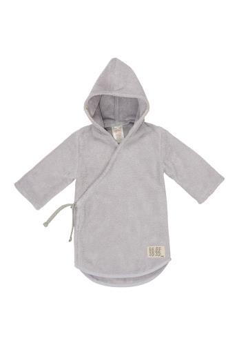 Koeka - Baby Badjas Dijon - Silver Grey - 74/80