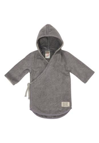 Koeka - Baby Badjas Dijon - Steel Grey - 62/68