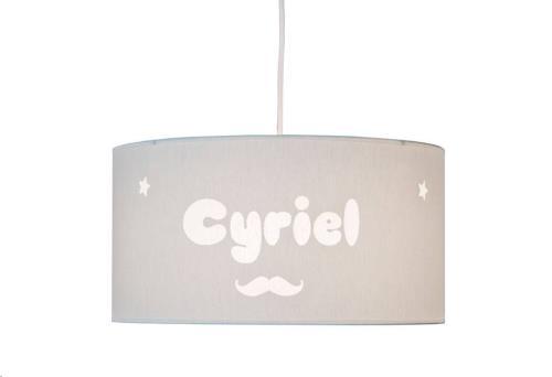 My Little Lamp - Hanglamp / Blauwe Kap / Snor / Balloon