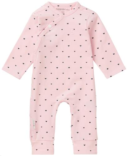 Noppies - Babypakje lange mouwen Nemi Light Rose - 1M