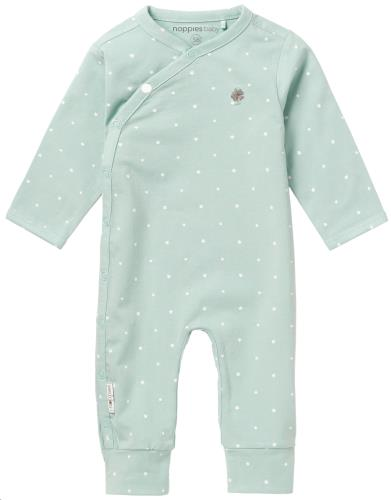 Noppies - Babypakje Lou AOP Grey Mint - 0M