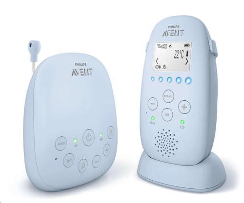Philips-Avent - Babyfoon SCD725/26 extra batterij
