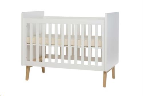Pericles - Baby Bed 120x60cm Pure Wit