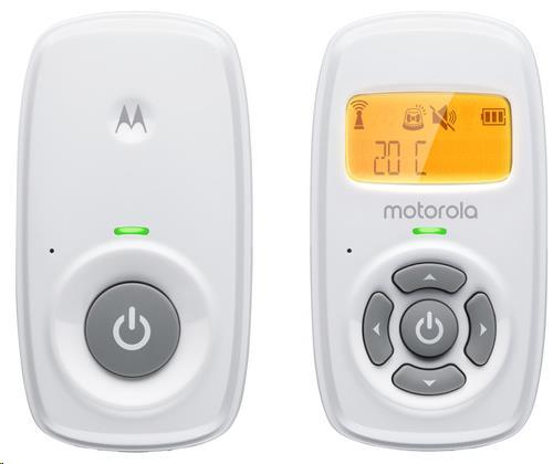 Motorola - Audio baby monitor with display