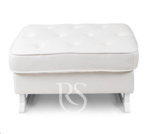 Rocking Seats - Royal Voetenbank Snow White. White Legs