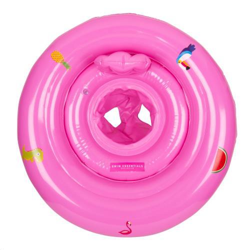 Swim Essentials - Baby Float Print Pink 0-1 Jaar