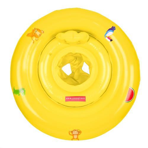 Swim Essentials - Baby Float Print Yellow 0-1 Jaar