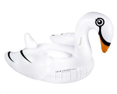 Swim Essentials - Luchtbed White Swan Ride-On 150 cm