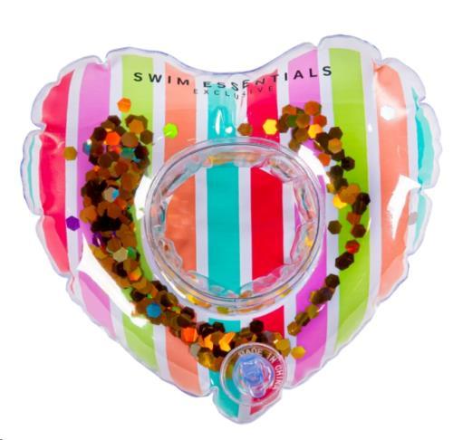 Swim Essentials - Bekerhouder Rainbow Heart - 18 cm