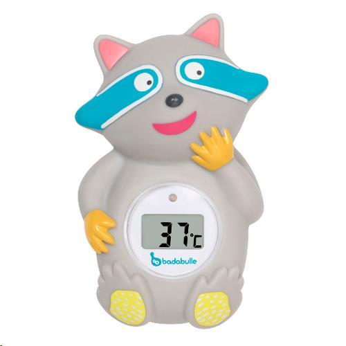 Badabulle - Badthermometer Raccoon