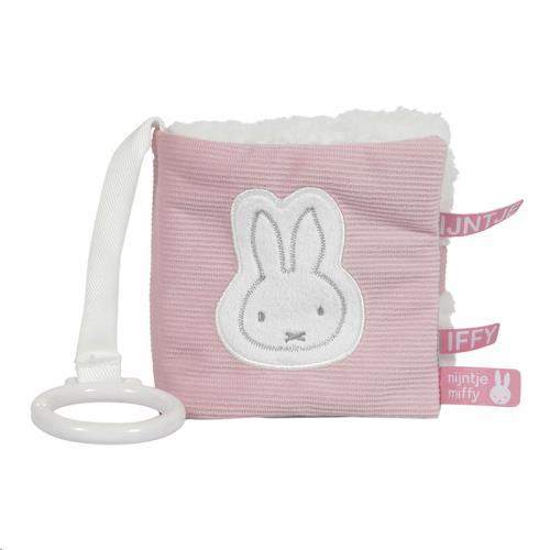 Nijntje - Miffy - Buggyboekje Nijntje Pink Baby Rib
