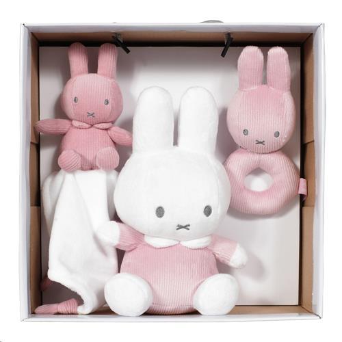 Nijntje - Miffy - Gift Set Nijntje Pink Baby Rib