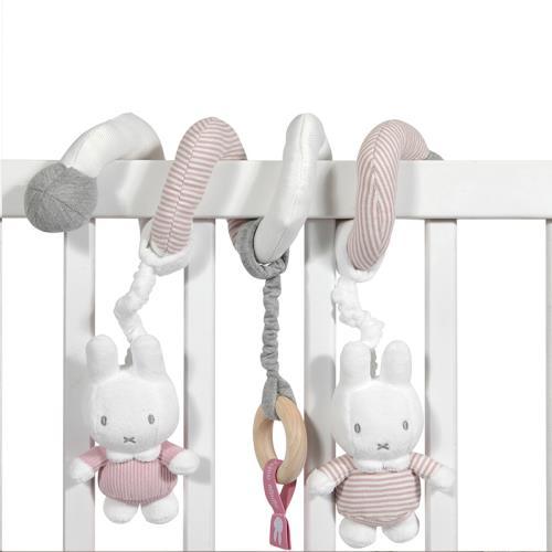 Nijntje - Miffy - Boxspiraal Nijntje Pink Baby Rib