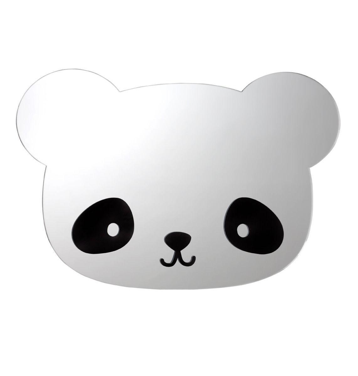 A Little Lovely Company - Mirror: Panda