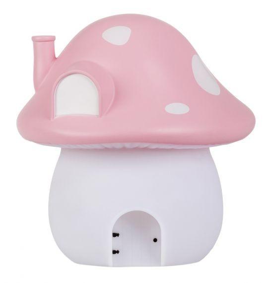 A Little Lovely Company - Night light: Mushroom house - fairies