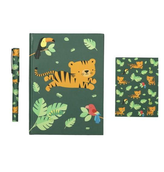 A Little Lovely Company - Stationery set: Jungle tiger