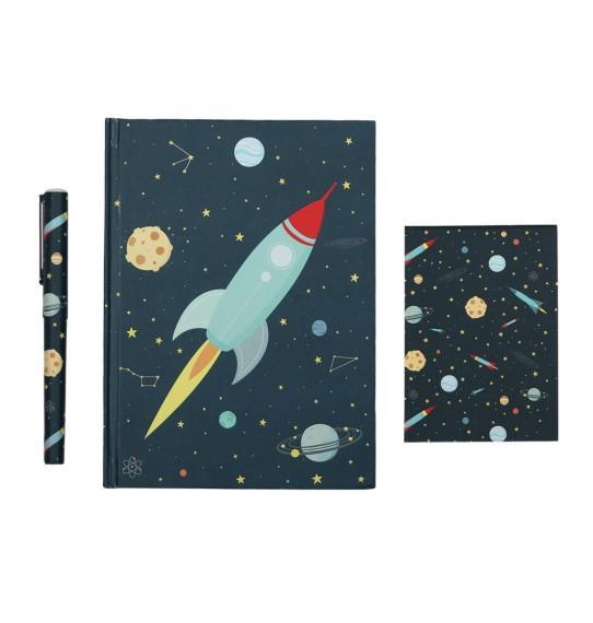 A Little Lovely Company - Stationery set: Space