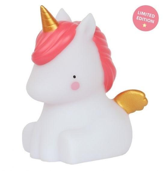 A Little Lovely Company - Little light: Unicorn - gold (limited edition)