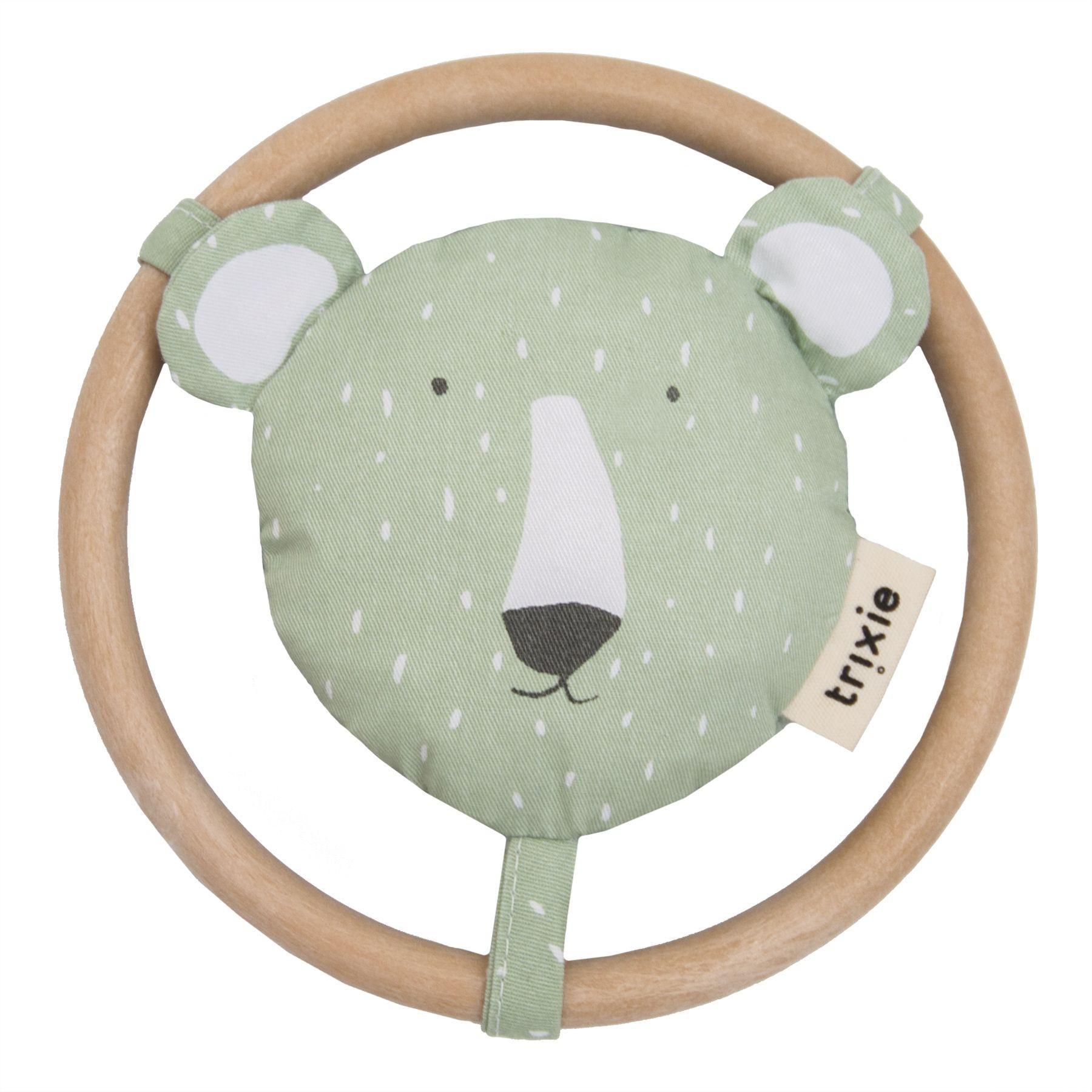 Trixie - Speelgoed | Rammelaar - Mr. Polar Bear - 24-263 - Pack-3Pcs