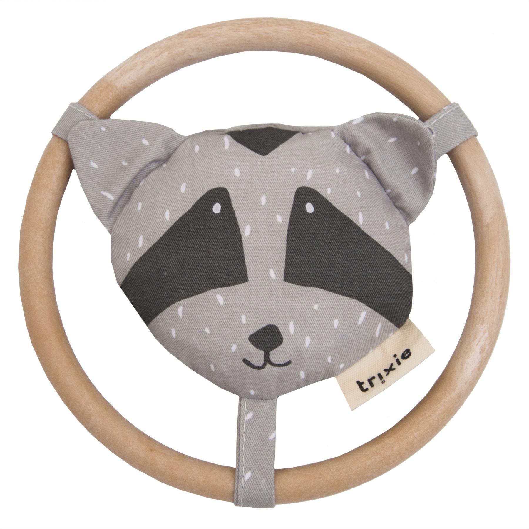 Trixie - Speelgoed | Rammelaar - Mr. Raccoon - 24-293 - Pack-3Pcs