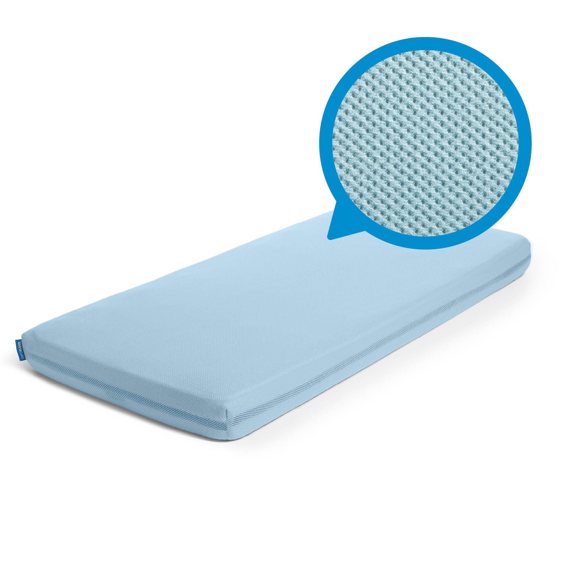 Aerosleep - Sleep Safe Hoeslaken Steel Blue - 70x140