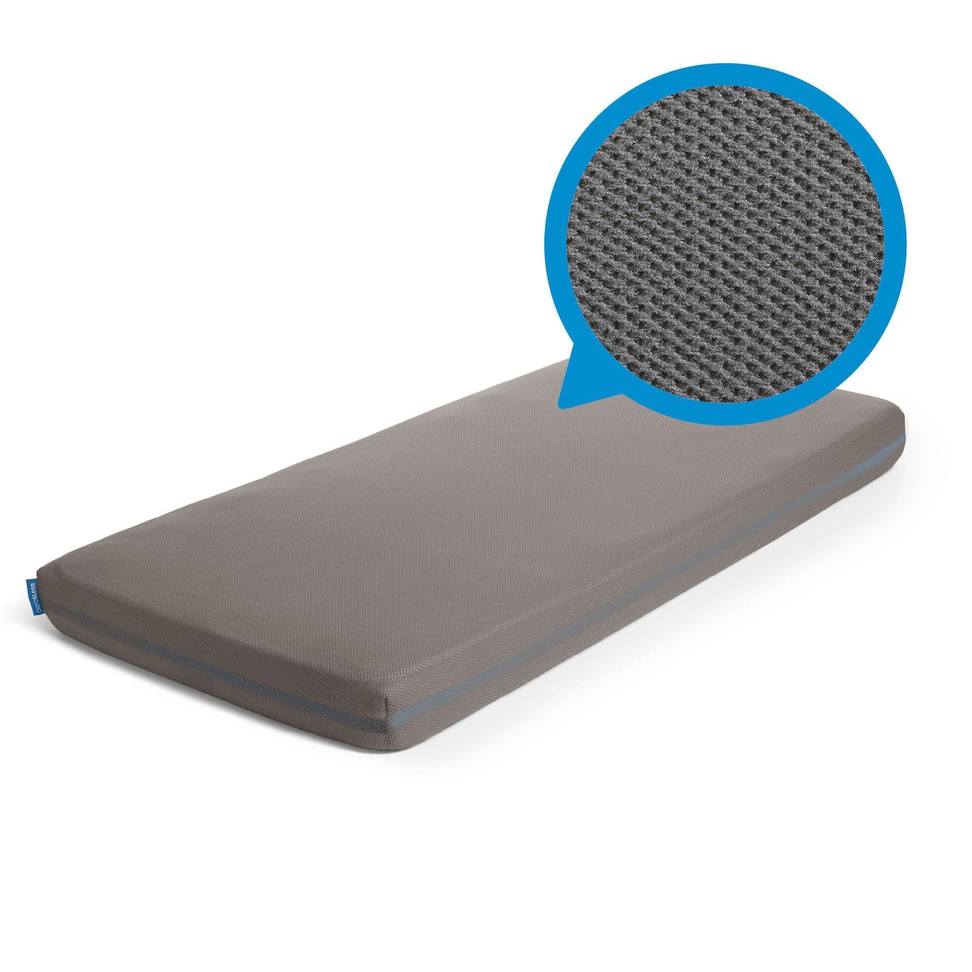 Aerosleep - Sleep Safe Hoeslaken Dark Grey - 60x120