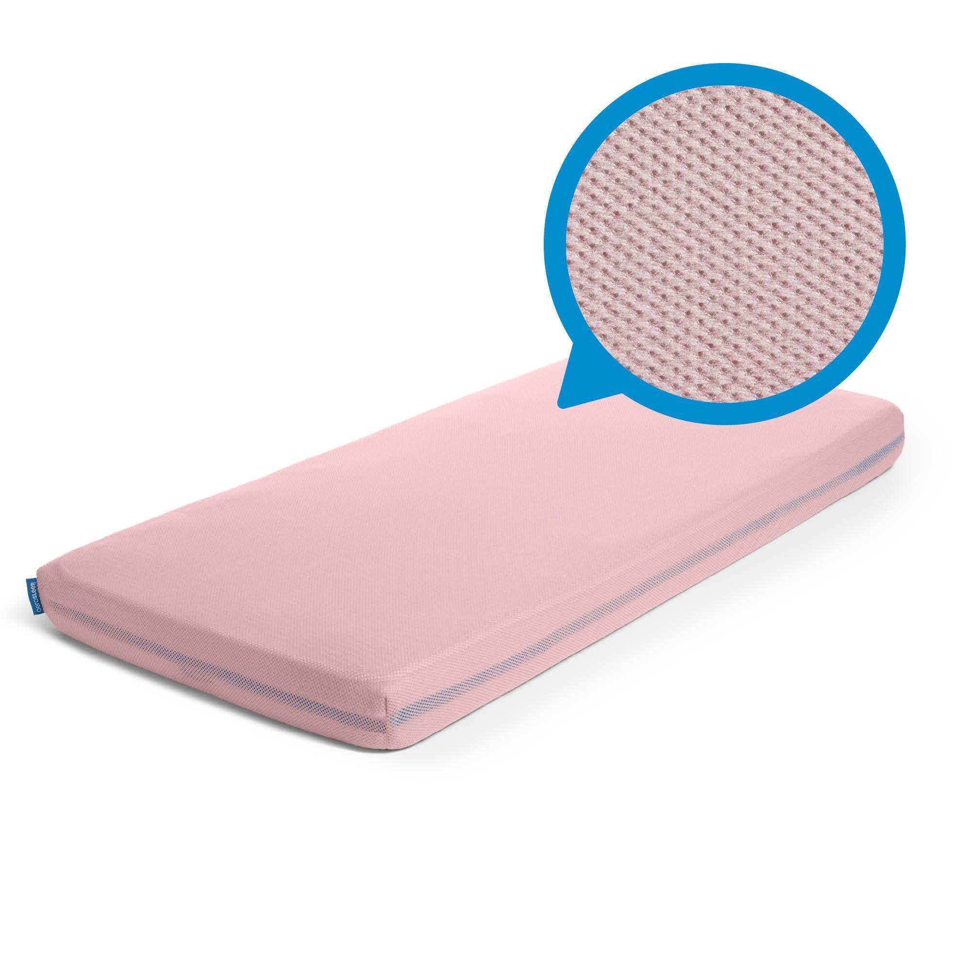 Aerosleep - Sleep Safe Hoeslaken Pink - 75x95