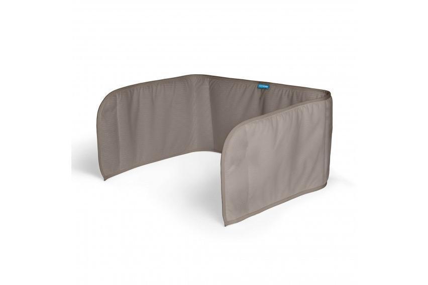 Aerosleep - Sleep Safe Bedomrander Dark Grey - 60x180