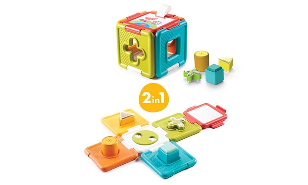 Tiny Love - 2-in-1 Shape Sorter and Puzzle