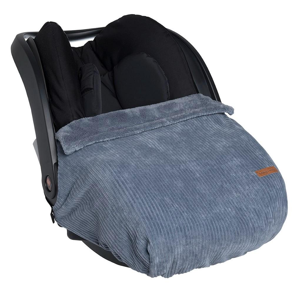 Baby's Only - Autostoeldekentje Sense vintage blue