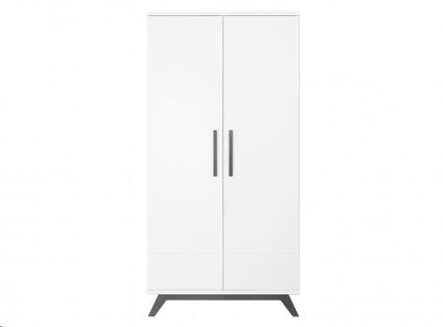 Bopita - 2-Deurskast XL Levi White/Grey Wash