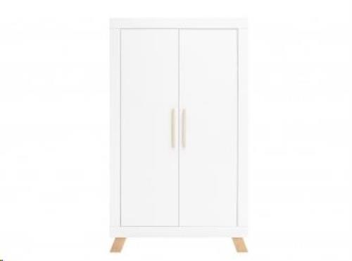 Bopita - 2-deurskast Lisa Wit/Naturel