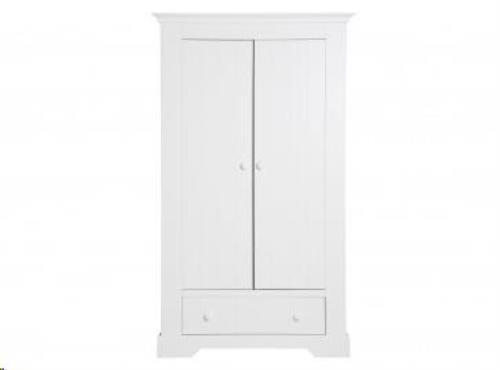 Bopita - 2-deurskast met lade Narbonne Wit