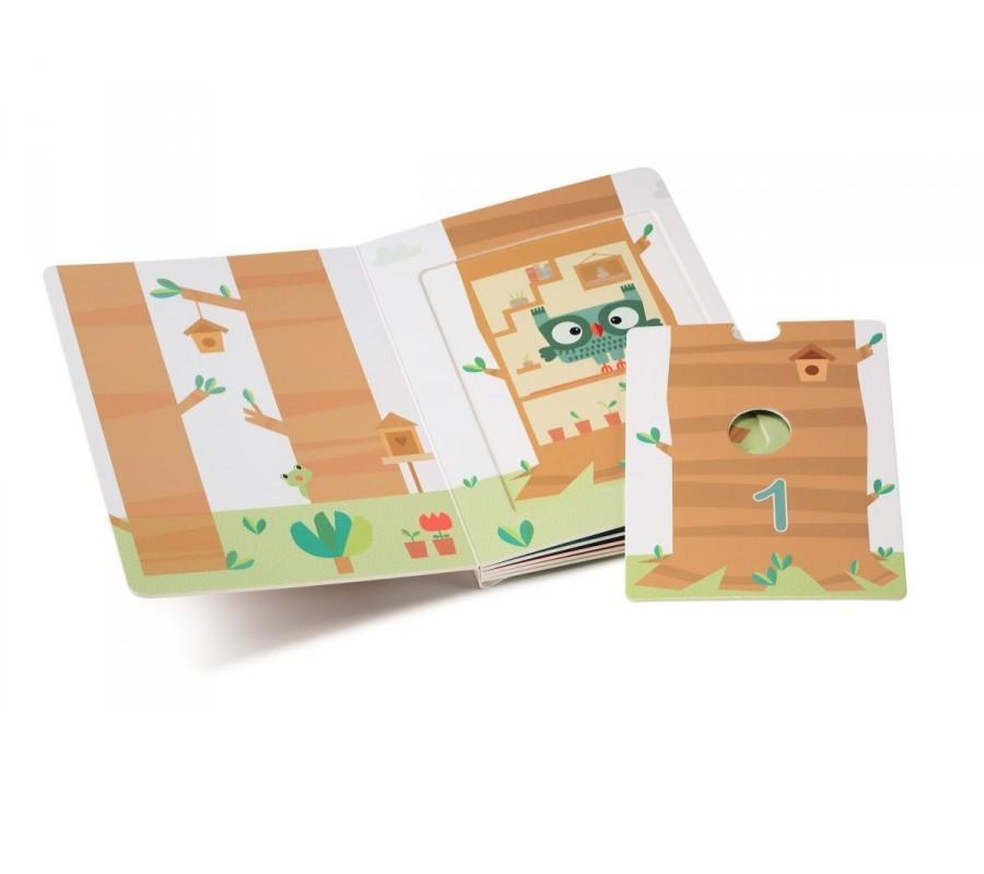 Lilliputiens - 1,2,3 Forest - Mijn Eerste Puzzelboek