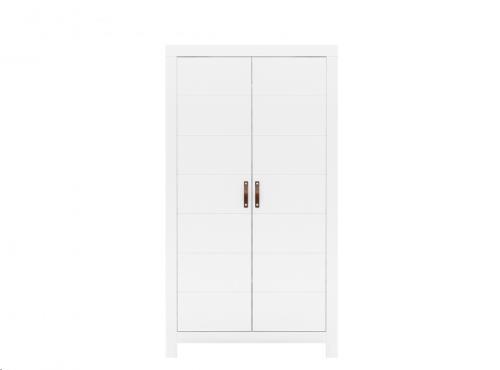 Bopita - 2-deurskast Lucca Wit