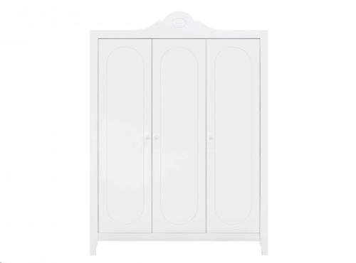 Bopita - 3-deurskast Evi Wit
