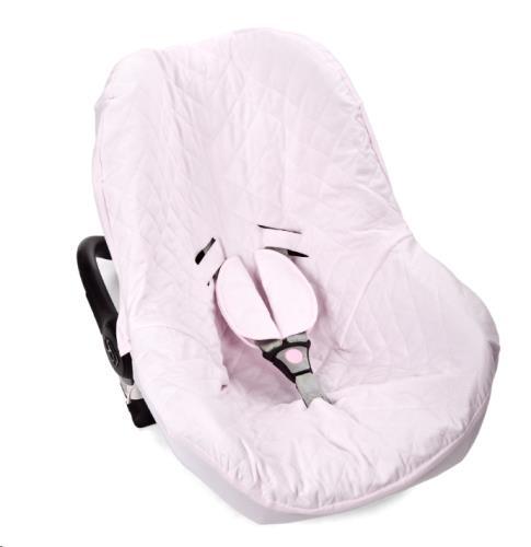 Poetree Kids - Autostoeltje Hoes Oxford Soft Pink
