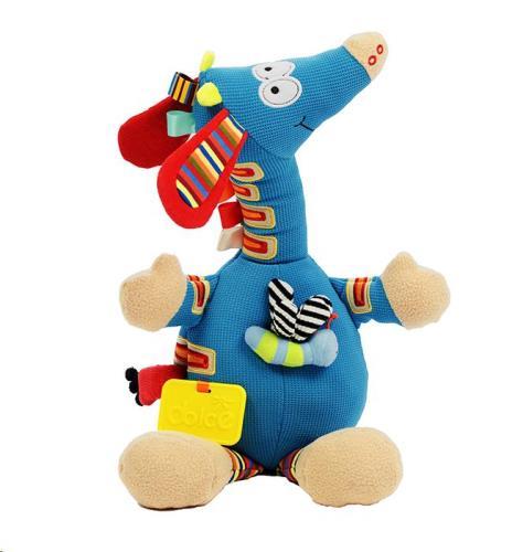 Dolce Toys - Activiteiten Knuffel - Muzikale Giraffe