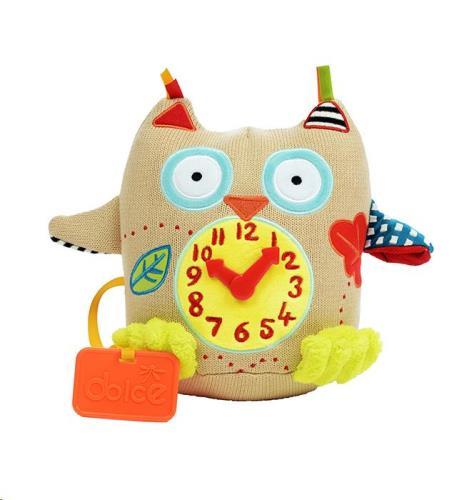 Dolce Toys - Activiteiten Knuffel - Mijn Eerste Klok
